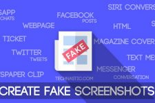create fake screenshot