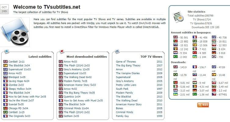 tv subtitles