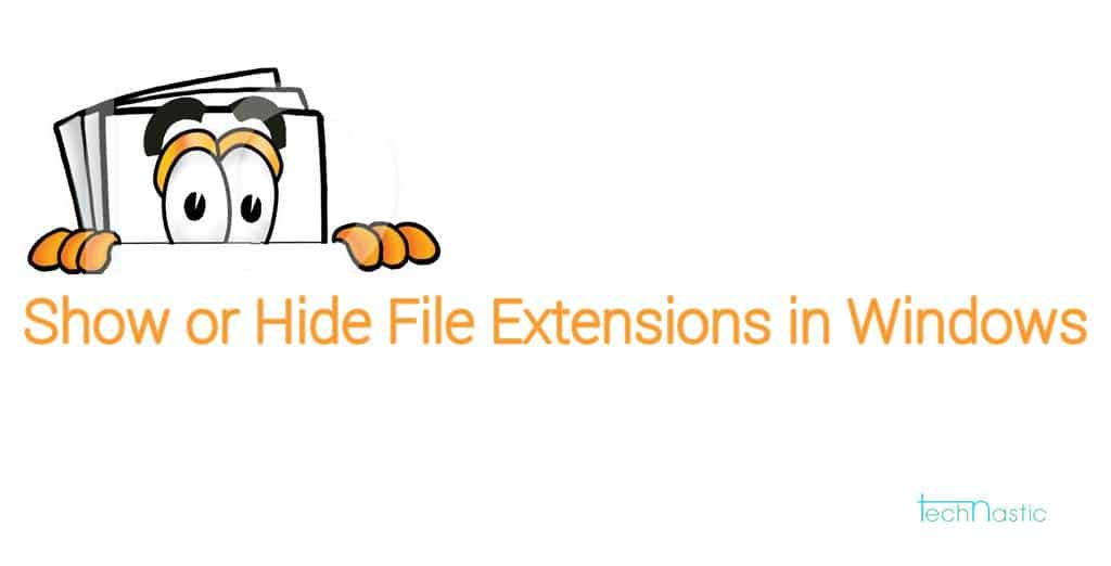 How-to-show-or-hide-file-extensions-in-windows