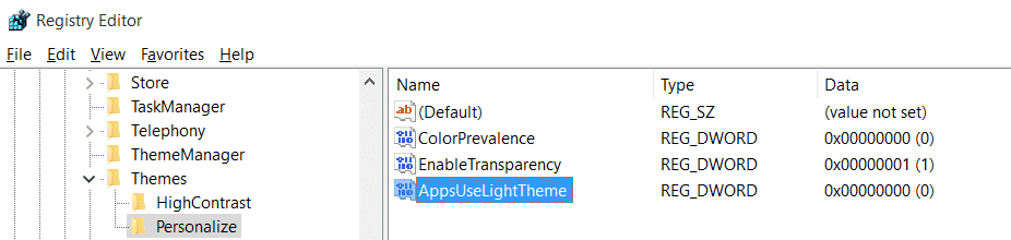appuselighttheme-reg-key