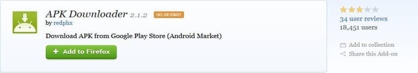 add app downloader to browser