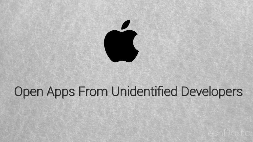 allow unidentified apps mac
