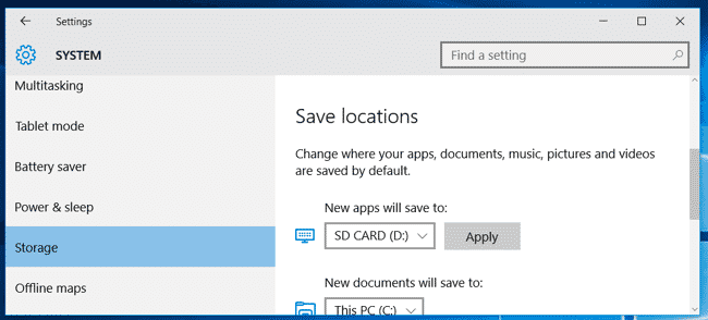 install programs to external drive