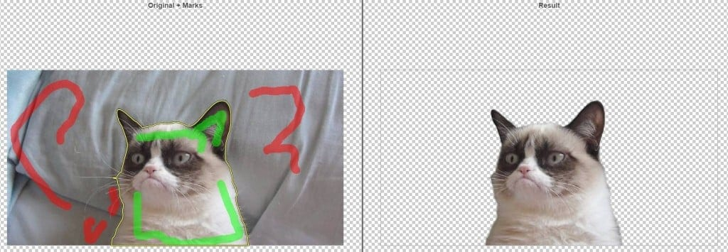 clipping magic background removal
