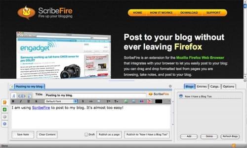 ScribeFire Blog Editor