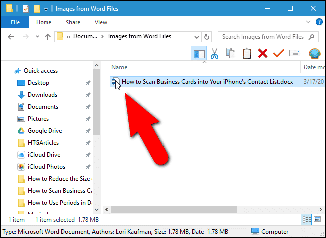 Extract Content from Office Files