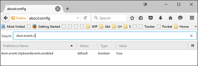 Firefox Enable Pasting - 2