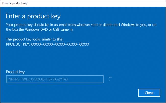 Upgrade Windows 10 1