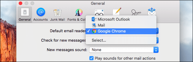 Change Web Browser And Email Client - 4