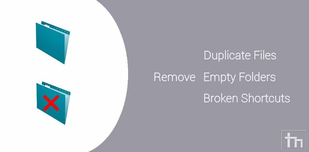 remove duplicate files windows