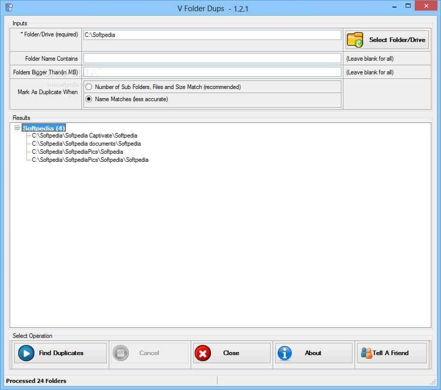 remove duplicate folders windows