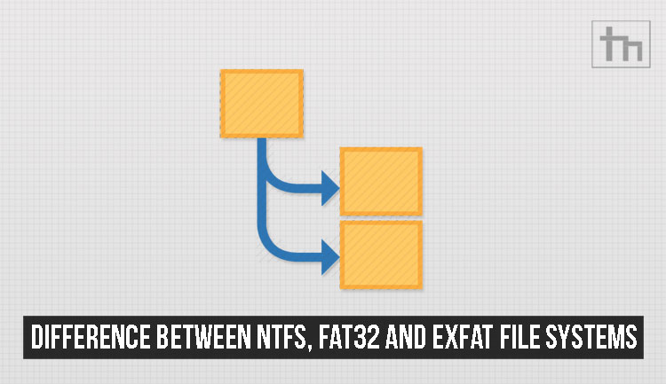 Difference Between NTFS, FAT32 and exFAT File Systems