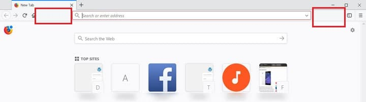 remove toolbar white space in firefox