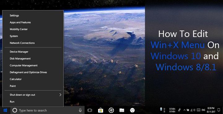 winx + menu editor