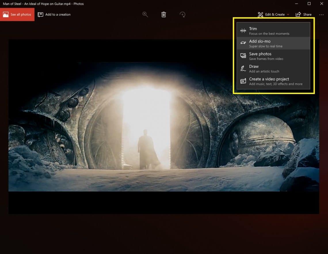 Add Slo-Mo effect on windows 10