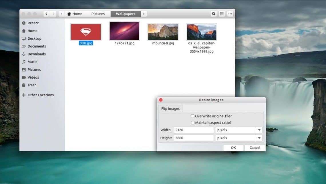 Convert And Resize Images With A Right-click On Ubuntu
