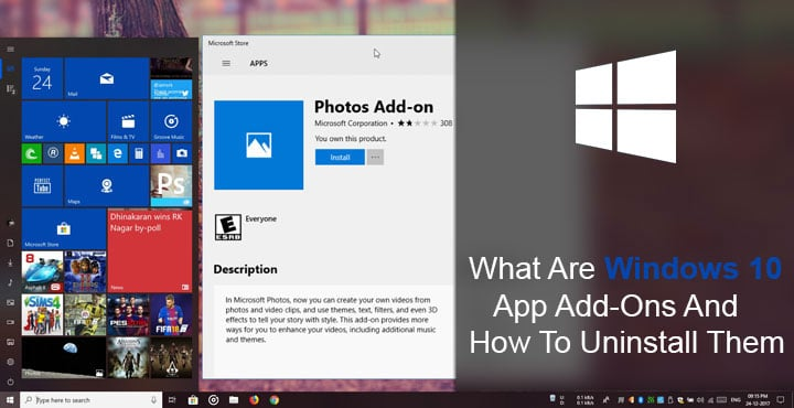 apps add-ons windows 10