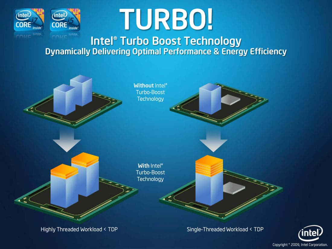 intel processor turbo boost