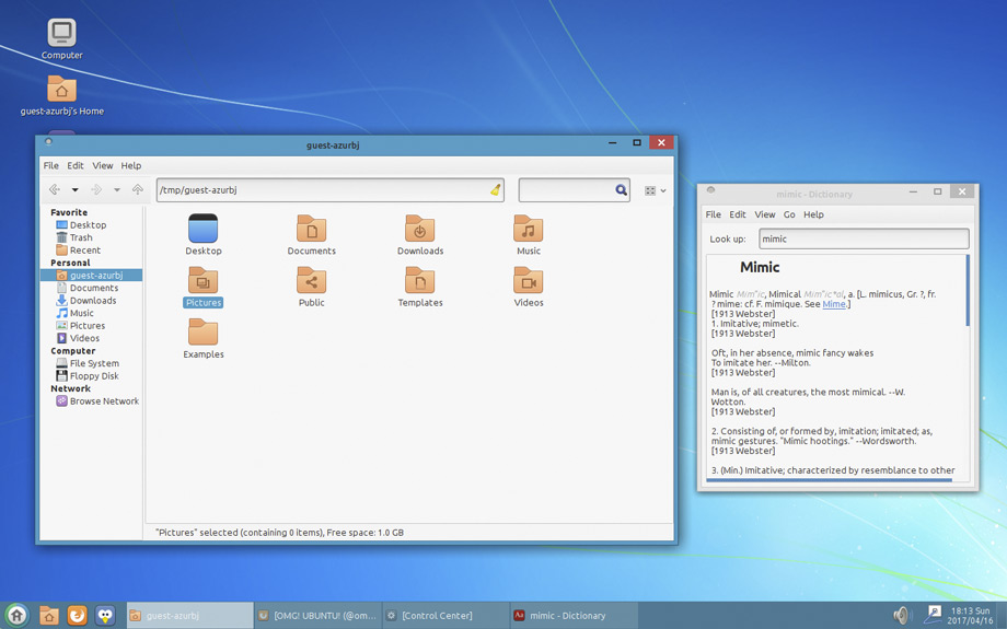 windows 7 makeover for ubuntu