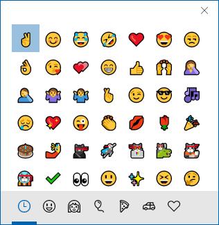 windows 10 emoji keyboard shortcut