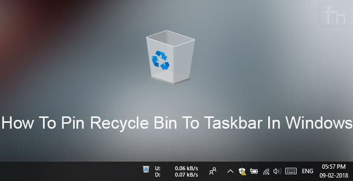 windows 10 recycle bin