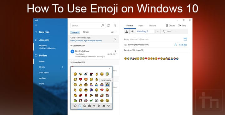 Emoji on Windows 10