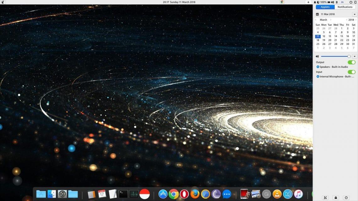 Budgie Desktop features