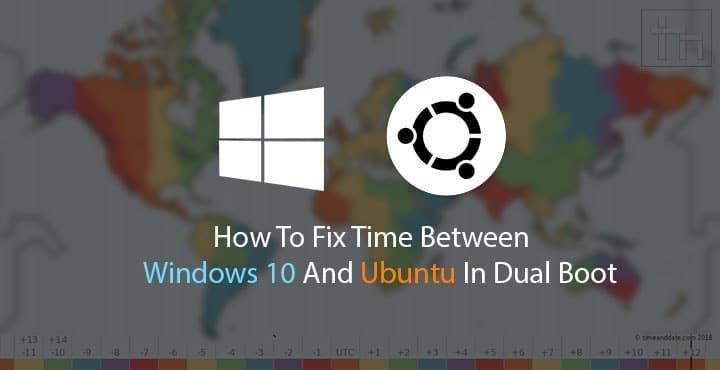Windows 10 and Ubuntu