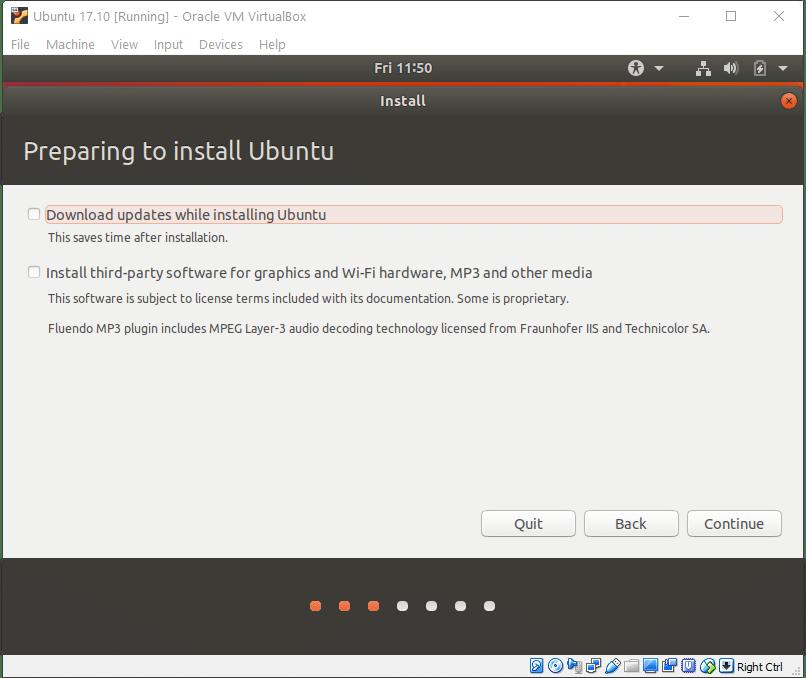 install ubuntu vm