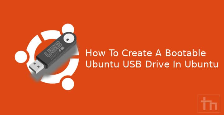 bootable ubuntu drive