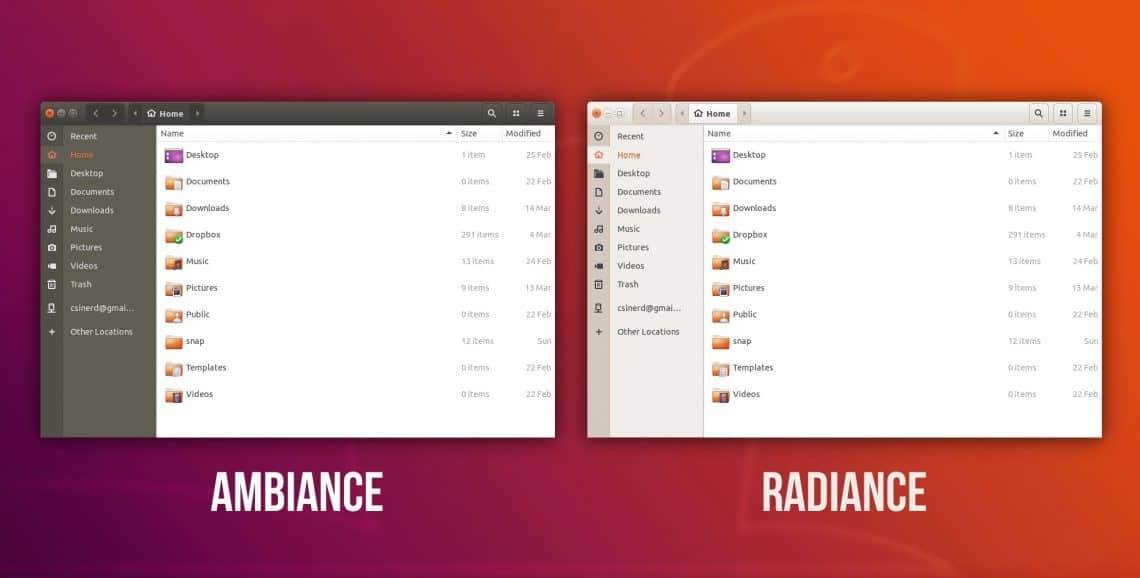Ubuntu 18.04 new look