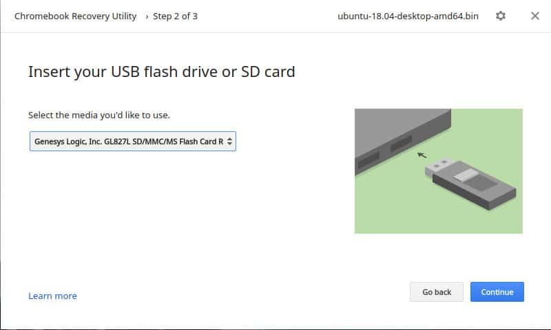 usb flash drive creation