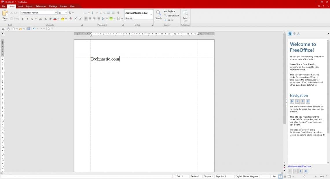 FreeOffice 2018 Is A Great Microsoft Office Alternative