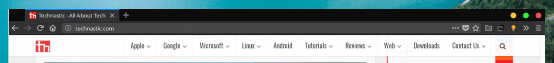 Title Bar removed in Firefox Linux