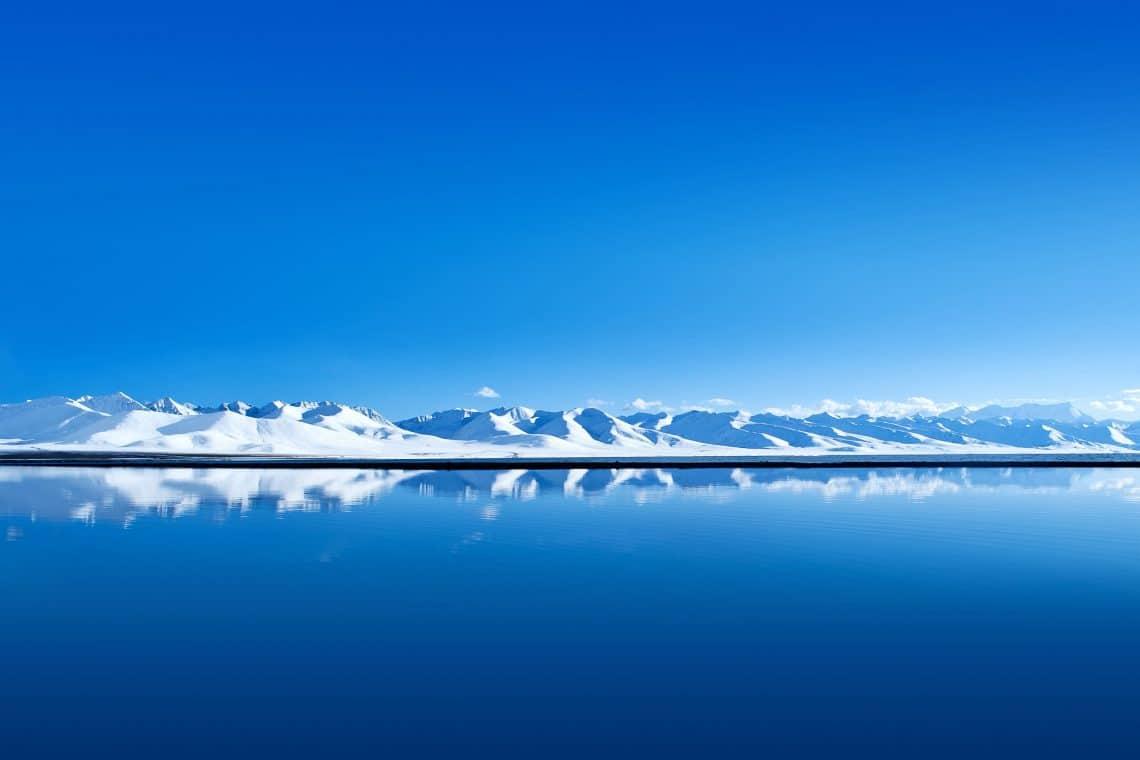 Matebook X Pro ice mountains wall