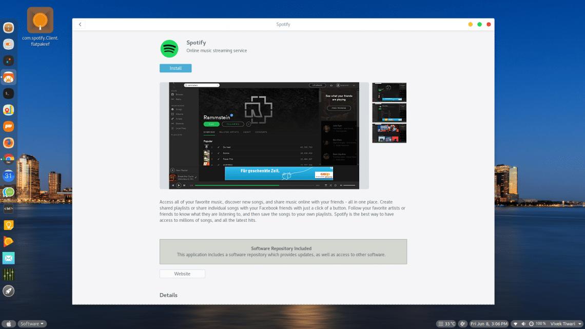 install gnome software plugin