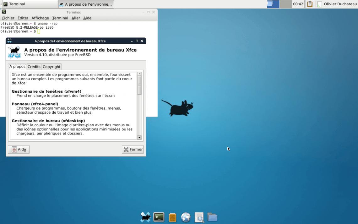 xfce de for linux