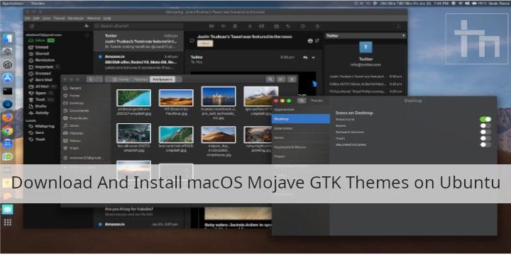 macOS GTK Themes Ubuntu