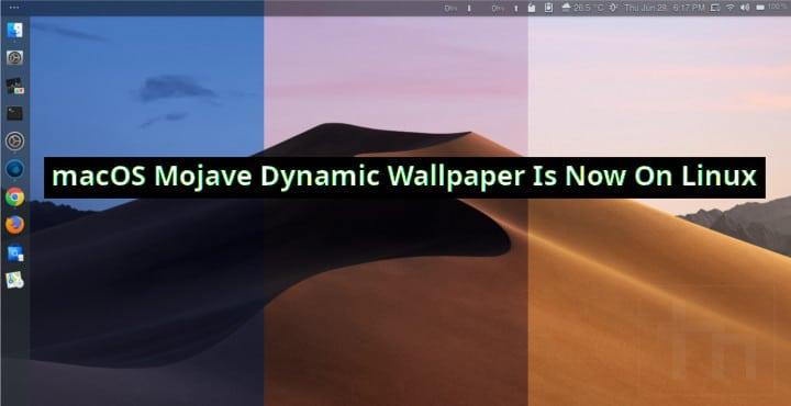 Mojave Dynamic Wallpaper