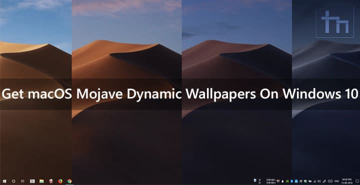 macOS Dynamic Wallpapers Windows 10