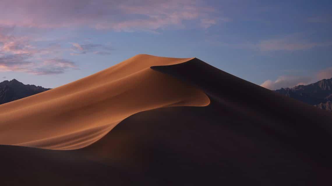 MacOS Mojave evening wallpaper