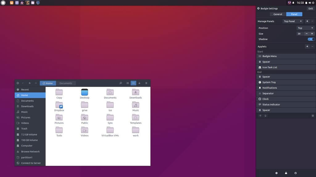budgie desktop for linux