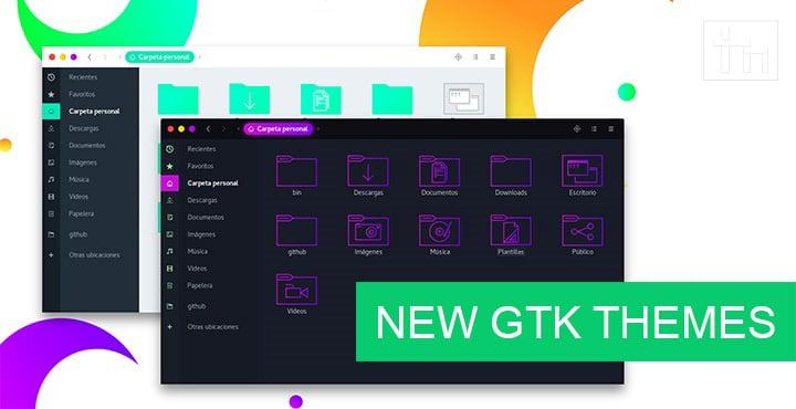 Brand New GTK Themes