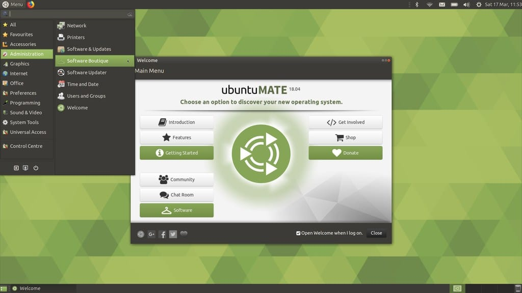 mate linux desktop environment