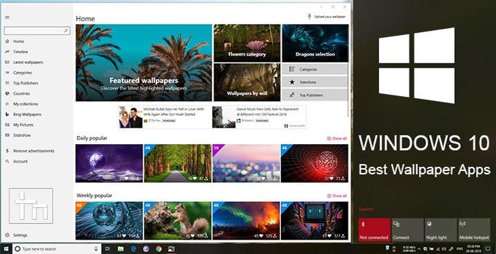 wallpaper apps windows 10