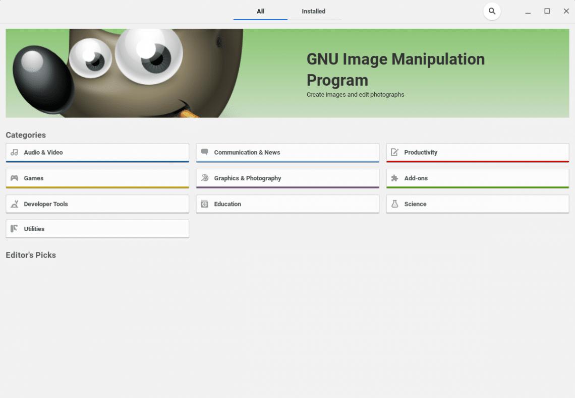 gnome image manipulation program