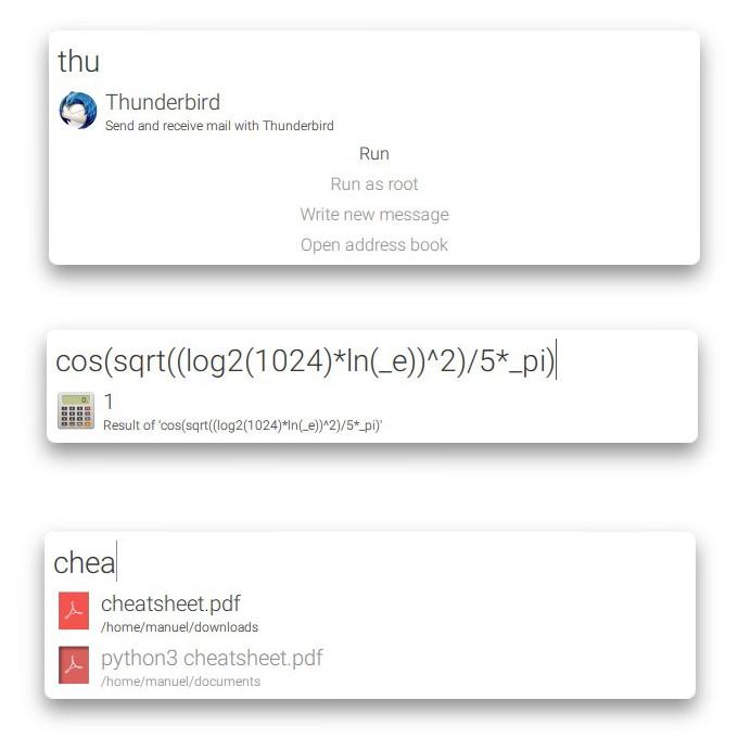 albert app launcher linux