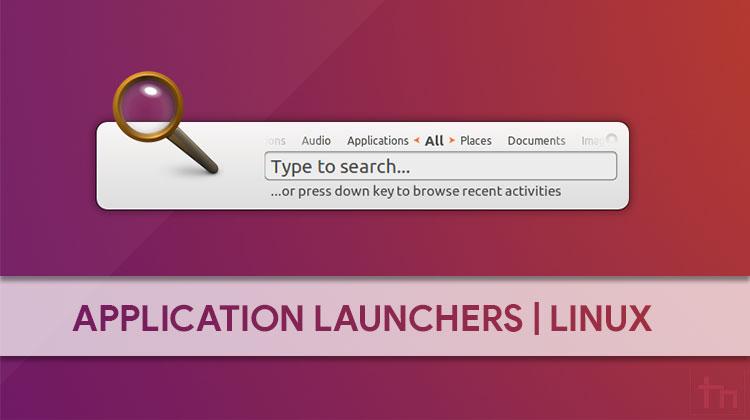 linux application launchers