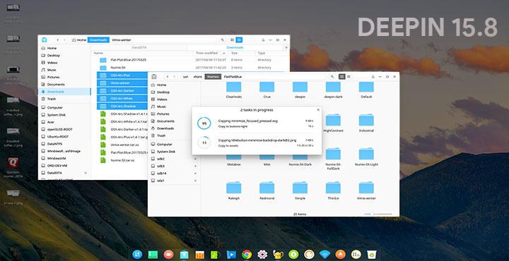 Linux Deepin 15.8