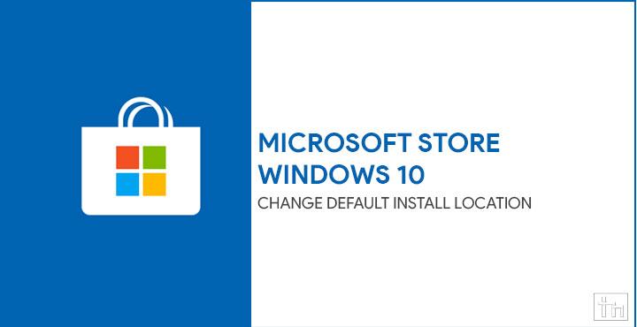 microsoft store install location